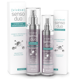 Vivese Senso Duo Oil 2 – Masz dosyć tego, iż każdego dnia Twoja fryzura jest coraz mniej spektakularna? Koniec z wypadaniem włosów!