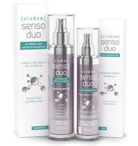 Vivese Senso Duo Shampoo – Osłabione włosy? Pragniesz specyfiku, który zlikwiduje tenże kłopot i polepszy stan Twoich włosów raz na zawsze? To znalazłaś!