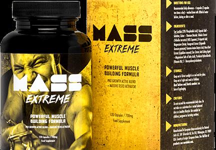 Mass Extreme – Lepsza rzeźba oraz napompowana sylwetka, to coś co osiągniesz bez kłopotu z Mass Extreme!