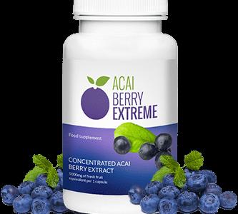 Acai Berry Extreme – silne działanie odchudzające w niezwykle szybkim czasie