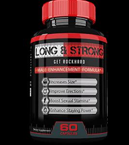 Long&Strong – Dłuższa, wytrzymalsza oraz twardsza erekcja? Spróbuj ten świetny suplement!