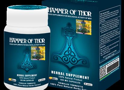 Hammer of Thor – wspaniały produkt, który poradzi sobie z wszelkim zaburzeniem wzwodu.
